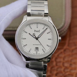 Replica Piaget Polo G0A41001 MKS Stainless Steel White Dial Swiss 1110P