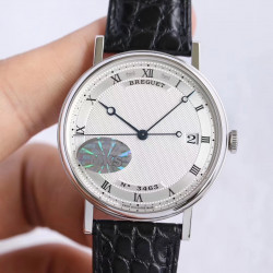 Replica Breguet Classique 5177BB/15/9V6 MKS Stainless Steel Silver Dial M9015