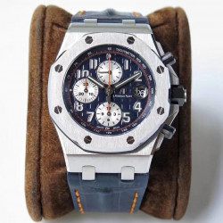 Replica Audemars Piguet Royal Oak Offshore Navy 26470ST.OO.A027CA.01 JF V2 Stainless Steel Blue Dial Swiss 3126