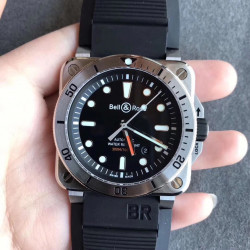 Replica Bell & Ross BR 03-92 Diver OX Stainless Steel Black Dial M9015