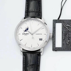 Replica Glashutte Senator Excellence Panorama Date Moon Phase 1-36-04-05-02-02 ETC Stainless Steel White Dial Swiss 36-04