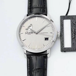 Replica Glashutte Senator Excellence Panorama Date Moon Phase 1-36-04-03-02-02 ETC Stainless Steel Grey Dial Swiss 36-04