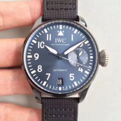 Replica IWC Big Pilot Edition Boutique Rodeo Drive IW502003 ZF Stainless Steel Blue Dial Swiss 51111