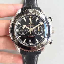 Replica Omega Seamaster Planet Ocean 600M Chronograph 215.33.46.51.01.001 JH Stainless Steel Black Dial Swiss 9900