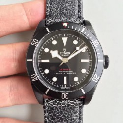 Replica Tudor Heritage Black Bay Dark M79230DK-0004 ZF PVD Black Dial Swiss 2824-2