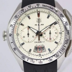 Replica Tag Heuer Mercedes Benz SLR Calibre 17 Stainless Steel White Dial Swiss Calibre 17