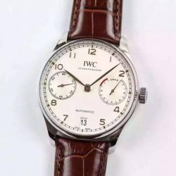 Replica IWC Portuguese IW500704 Stainless Steel White Dial Swiss 52010