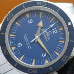 Replica Omega Seamaster 300 Stainless Steel Blue Dial Swiss 8400