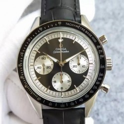Replica Omega Speedmaster Moonwatch Limited Edition Stainless Steel Black Dial Swiss 1861
