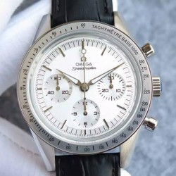 Replica Omega Speedmaster Moonwatch Limited Edition Stainless Steel  White Dial Swiss 1861