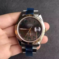 Replica Rolex Datejust II 116333 41MM V5 Stainless Steel & Yellow Gold Anthracite Dial Swiss 2836-2