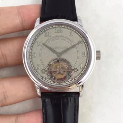 Replica A. Lange & Sohne 1815 Tourbillon 730.032 LH Stainless Steel Grey Dial Swiss L102.1