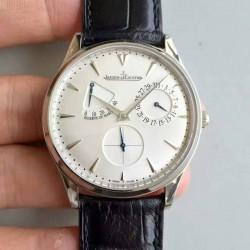 Replica Jaeger-LeCoultre Master Ultra Thin Reserve De Marche 1378420 N Stainless Steel White Dial Swiss Calibre 938
