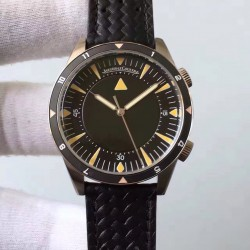 Replica Jaeger-LeCoultre Memovox Tribute to Deep Sea Q2028470 ZF Stainless Steel Black Dial M9015