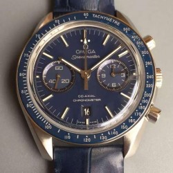 Replica Omega Speedmaster Professional Chronograph Stainless Steel Blue Dial Swiss 9300