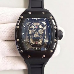 Replica Richard Mille RM052 SF PVD Silver Skull Dial Swiss M6T51
