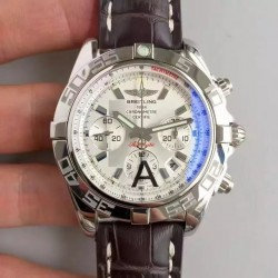 Replica Breitling Chronomat 44 AB011012/G684/739P/A20BA.1 N Stainless Steel White Dial Swiss 7750