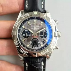 Replica Breitling Chronomat 44 AB011012/F546/435X/A20BA.1 N Stainless Steel Anthracite Dial Swiss 7750