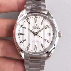 Replica Omega Seamaster Aqua Terra 150M Master Co-Axial 231.10.42.21.02.003 KW Stainless Steel White Dial Swiss 8500