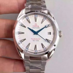Replica Omega Seamaster Aqua Terra 150M Captain's Watch Ryder Cup 231.10.42.21.02.002 KW Stainless Steel White Dial Swiss 8500