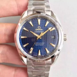 Replica Omega Seamaster Aqua Terra 150M Master Co-Axial 231.10.42.21.03.004 KW Stainless Steel Blue Dial Swiss 8500