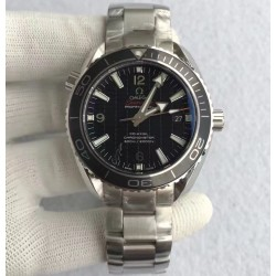 Replica Omega Seamaster Planet Ocean 600M Skyfall Edition KW Stainless Steel Black 007 Dial Swiss 8507