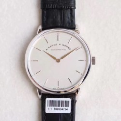 Replica A. Lange & Sohne Saxonia Thin 211.026 V6 Stainless Steel White Dial M9015