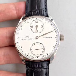 Replica IWC Portugieser Regulateur IW544401 ZF Stainless Steel White Dial Swiss IWC 98245