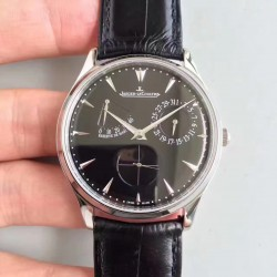 Replica Jaeger-LeCoultre Master Ultra Thin Reserve de Marche 1378480 ZF Stainless Steel Black Dial Swiss Caliber 938